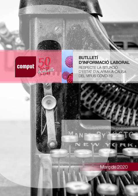 Butlletí Informació Laboral 1 // Març 2020